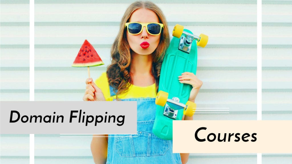 Domain flipping courses